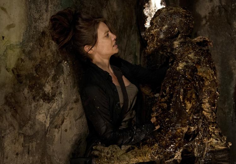 Lauren Cohan as Maggie Greene - The Walking Dead _ Season 6, Episode 5 - Photo Credit: Gene Page/AMC